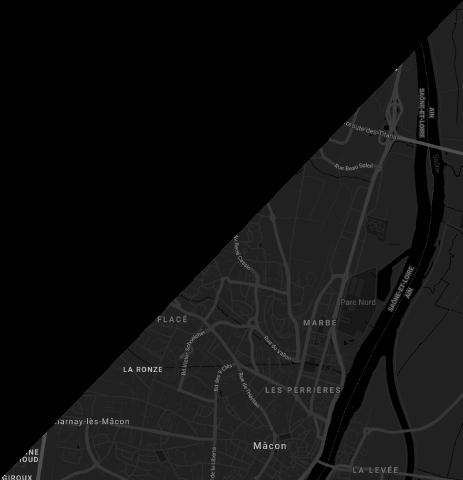 carte map itinéraire Le Spot Mâcon Congrès Parc des expositions