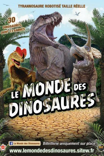 Le monde des dinosaures Parc des Expositions de Mâcon
