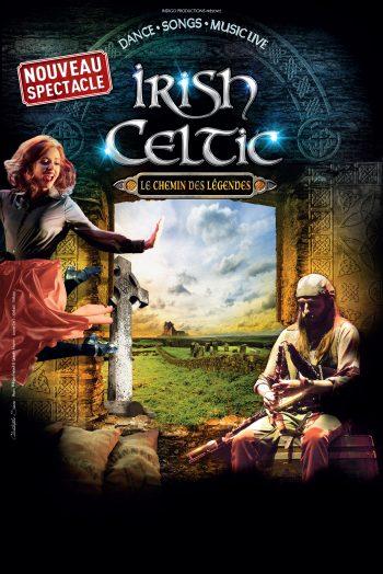 Affiche Irish Celtic Le chemin des légendes spectacle le spot mâcon