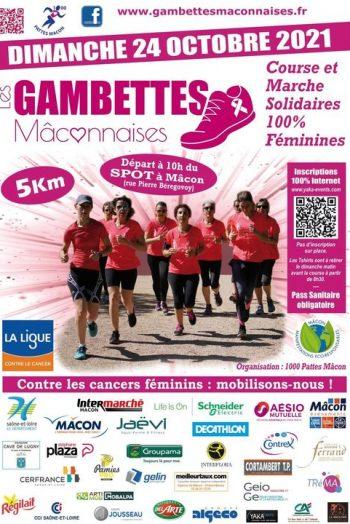 Gambettes maconnaises Spot Mâcon octobre rose